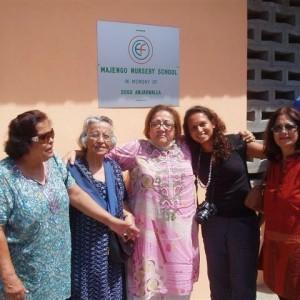 Improved facilities to slum schools