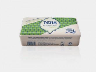TENA POP-UP KITCHEN TOWEL